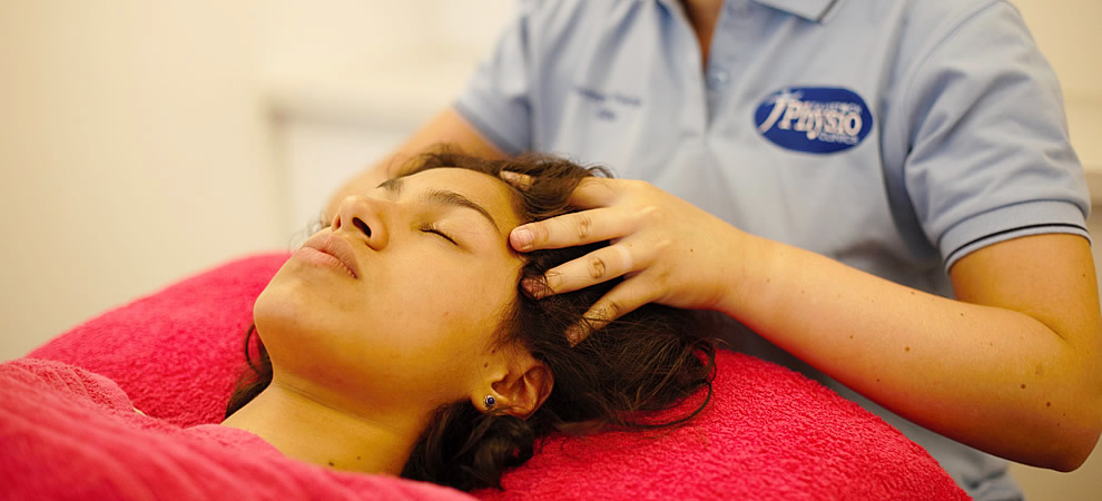 Relaxation massage therapy at Tavistock Physio Clinics